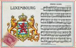 Luxembourg - Hymne National - Postkaarten