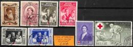 [831621]TB//O/Used-Belgique 1939 - N° 496/503,  Organisations, Croix-Rouge - Cruz Roja