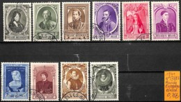 [831713]TB//O/Used-Belgique 1941 - N° 573/82, Princes Européens, Familles Royales - Belgique