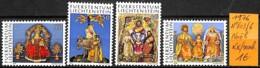 [832724]TB//**/Mnh-Liechtenstein 1976 - N° 603/06,  Fêtes, Religions & Croyances, Noël - Liechtenstein