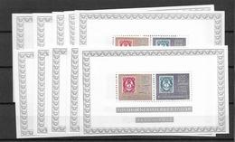 1972 MNH, Norway  Block 1, 10x - Blocchi & Foglietti