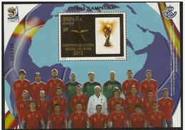 CON DTO.20% EUROS FACIAL - **4608 H.B.ESPAÑA CAMPEONA MUNDIAL FURBOL. FACIAL 2 EUROS, QUEDA EN 1,60 EUROS EL SELLO - 1931-Tegenwoordig: 2de Rep. - ...Juan Carlos I