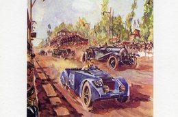 24 Heures Du Mans 1925  -  Chenard Et Walcker 'Tank' - Lorraine - Artist: Géo Ham -  Carte Postale Moderne - Le Mans