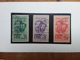 R.S.I. - Fratelli Bandiera Nn. 512/14 Timbrati + Spese Postali - 4. 1944-45 Repubblica Sociale