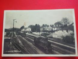 LANGENTHAL BAHNHOF TRAIN - BE Berne