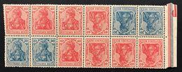 GERMANIA Impero 1916 30pf + 40pf  12 Es. Tete Beche 1 Esemplare Non Perfetto COD.FRA.1258 - Nuovi