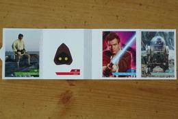 Star Wars 2019 - 4 Cartes Différentes - Stickers Leclerc N° 03 - 42 - 56 - H  Voir Scan - Star Wars
