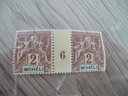 TP France Colonies Françaises Millésimes Mohéli TP N° 2 Sans Charnière - Mohéli (1906-1912)