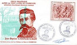Courbevoie 1975 Carpeaux - FDC