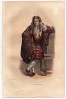 Gravure 19ème Réhaussée De La Bruyère Moraliste Les Caractères Dessinée Et Gravée Par Boilly - Prints & Engravings