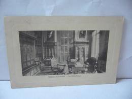 CHÂTEAU DE CAGNY 14 CALVADOS NORMANDIE LA BIBLIOTHÈQUE CPA 1913 - France