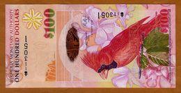 Bermuda, $100, 2009, Hybrid Polymer, P-62a, First Prefix Onion, QEII, UNC - Bermudas