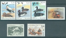 ALAND - 1987 - MNH/*** LUXE - YEAR COMPLETE - SEABIRDS - Yv 20-25 - Lot 20771 - Aland