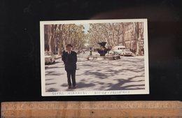 Photographie Photo : AIX EN PROVENCE Le Cours Mirabeau C.1960 Automobiles Vintage - Orte