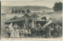 Scenes Et Types - Tentes De Nomades - Escenas & Tipos