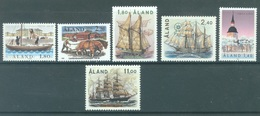 ALAND - 1988 - MNH/*** LUXE - YEAR COMPLETE - Yv 26-31 - Lot 20772 - Aland