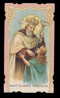 S. ALBINO VESCOVO 1898 - Devotion Images