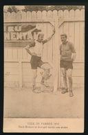 TOUR DE FRANCE 1910 -  PETIT BRETON ET GEORGET APRES UNE ETAPE - Cyclisme