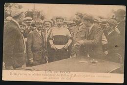 TOUR DE FRANCE 1910 - RENE POTTIER LE CELEBRE VAINQUER DU BALLON D'ALSACE AYANT SON MONUMENT AU SOMMET DU COL - Cycling