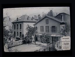 France 1910 Pension De Famille Duplatre Post Grenoble Pétersbourg Volyn Mueller - Grenoble