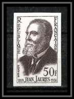 France N°1217 Jean Jaures 1959 Non Dentelé ** MNH (Imperforate) - Frankreich