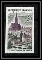 France N°1308 Ville De Thann église Church Non Dentelé ** MNH (Imperforate) - Frankreich