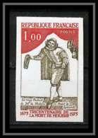 France N°1771 Molière écrivain Writer THEATRE Non Dentelé ** MNH (Imperforate) - Imperforates