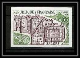 France N°1793 Salers Château (castle) Cantal Non Dentelé ** MNH (Imperforate) - Imperforates