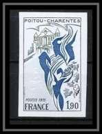 France N°1851 Région Poitou-Charentes 1975 Non Dentelé ** MNH (Imperforate) - Imperforates