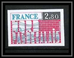 France N°1852 Région Nord - Pas-de-Calais 1975 Non Dentelé ** MNH (Imperforate) - Imperforates
