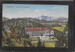 AK 0383  Semmering - Kurhaus Mit Villa Meran / Verlag Kleinhans Um 1914 - Semmering