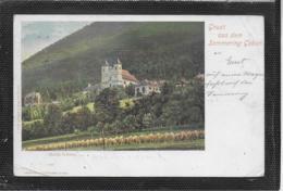 AK 0384  Semmering - Wallfahrtskiche Maria Schutz / Verlag Back & Schmitt Um 1899 - Semmering