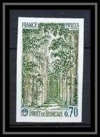 France N°1886 Foret De Tronçais Allier Chene Forest Non Dentelé ** MNH (Imperforate) - Imperforates