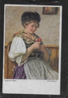 AK 0384  Gebhardt , Karl - Bayrisch Blut / Moderne Münchner Meister Um 1917 - Peintures & Tableaux