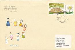 Korea South Cover Sent To Denmark 22-7-2006 (SOS Kinderdorf Korea) - Corée Du Sud