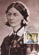 49796  Jersey, Maximum 2011   Florence Nightingale,  Nurse, Writer And  Statistician - Famous Ladies