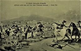 ACIREALE - CATANIA - BATTAGLIA D'AQUILIO DI G.SCIUTI - AFFRESCO NELLA CASA DEL CAV. AND. COLONNA - FOT.CELSO - Acireale