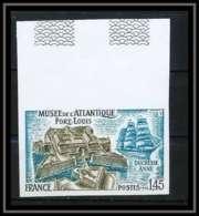 France N°1913 Port-Louis Morbihan Musée De L'Atlantique Bateau Ship Non Dentelé ** MNH (Imperforate) - Francia