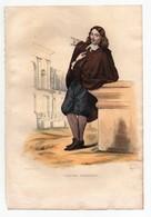 Gravure 19ème Réhaussée De Claude Perrault Médecin Architecte Dessinée Par Guilleminot Gravée Par Langlois - Prints & Engravings