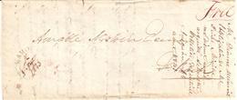 Free Frank - Folded Letter - Stamps