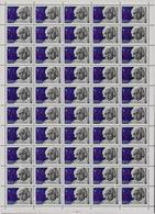 ++ 1979 Sol 4944 A.Einstein Complete Sheet MNH OG - Feuilles Complètes