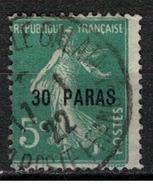 LEVANT           N°  YVERT    28   OBLITERE       ( Ob   5/61 ) - Levant (1885-1946)