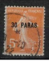 LEVANT           N°  YVERT    29   OBLITERE       ( Ob   5/61 ) - Levant (1885-1946)