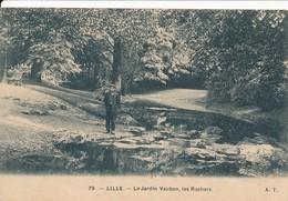 Lille At 79 Le Jardin Vauban Les Rochers Tbe - Lille