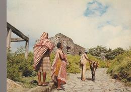 C. P. - PHOTO - DOMONI - AUJOUAN - COMORES - SCÈNE FAMILIÈRE - 82 - OPTICAM - - Comoren