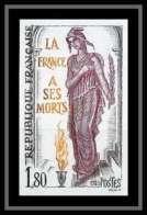 France N°2389 Inhumation Du Soldat Inconnu 1985 Non Dentelé ** MNH (Imperforate) - Imperforates