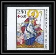 France N°2853 Croix Rouge (red Cross) 1993 Imagerie De Metz Saint Nicolas Cote 40 Non Dentelé ** MNH (Imperforate) - France