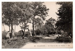 JEUX Et JOUETS  -  Jeu De Colin-Maillard  -  78  VILLENNES  -  Un Coin Du Bois Des Falaises - Jeux Et Jouets