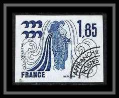 France Préoblitere PREO N°149 Verseau Signe Du Zodiaque Zodiac Sign Non Dentelé ** MNH (Imperforate) - Probedrucke