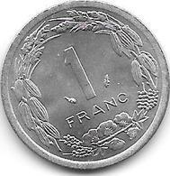*central African States 1 Franc 1978 Km 7   Bu - Repubblica Centroafricana